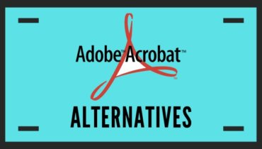 adobe acrobat alternatives