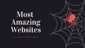 Most Amazing Websites