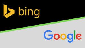 bing and google