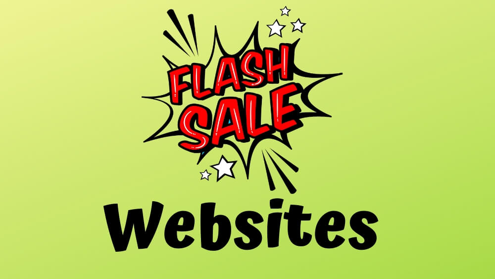 best flash sale sites