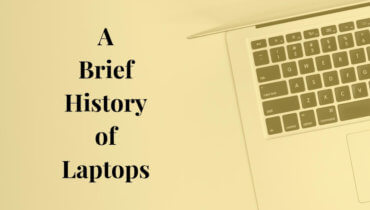 history of laptops