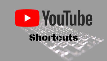 youtube Search Shortcuts