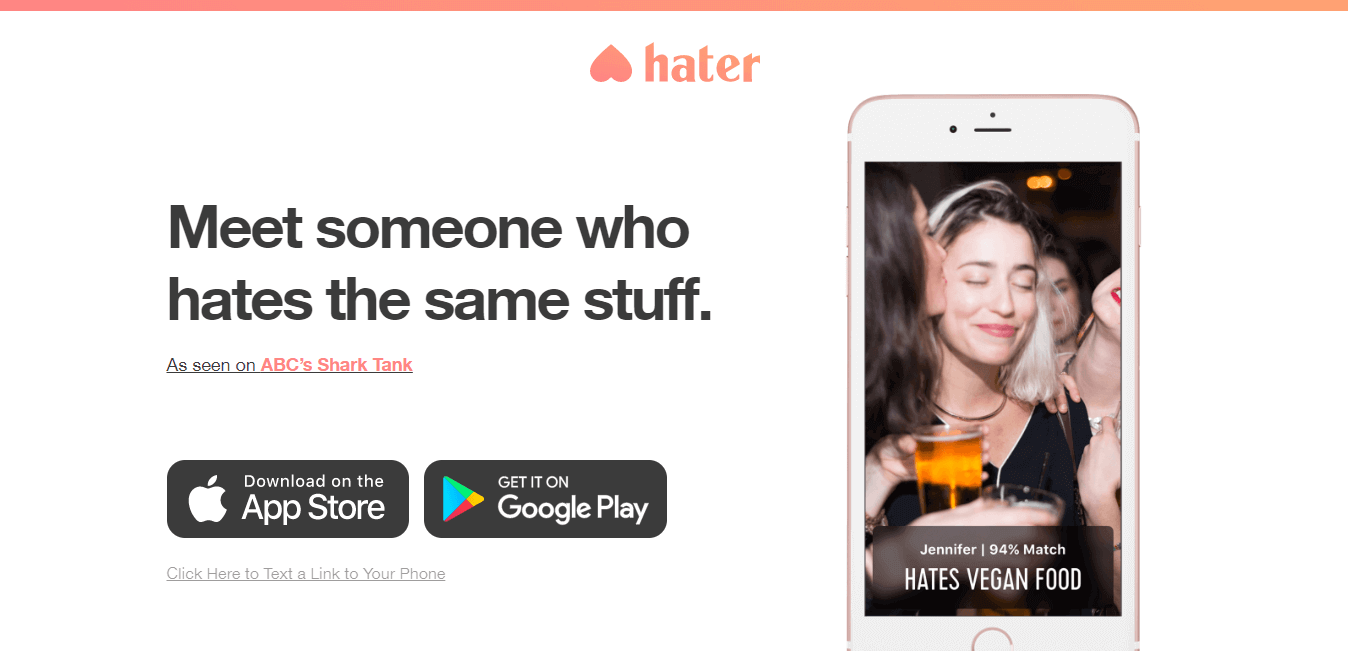 best dating sites - hater