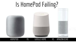 HomePod vs Amazon Echo vs Google Home