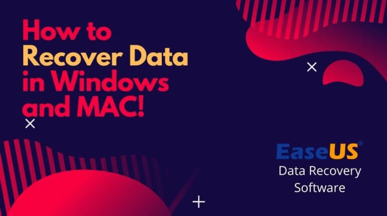 How to Recover Data in Windows and MAC