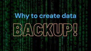 Why to do data backup